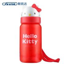 skater SKATER斯凯达日本进口儿童吸管杯HelloKitty水杯宝宝可爱学饮杯