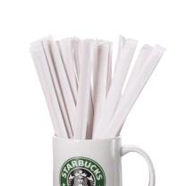 全适 一次性咖啡搅拌棒 14cm 500支 木质白桦木咖啡调棒