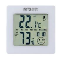 晨光 M&G 晨光(M&G)闹钟电子温湿度计大屏显示带时间 婴儿房室内温湿度表 白色ARC92572 大屏显示