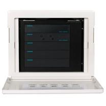 配电箱 西门子(SIEMENS)弱电箱 锐逸系列 6位智能家居配线箱 多媒体光纤箱信息箱(含模块) 6位套装