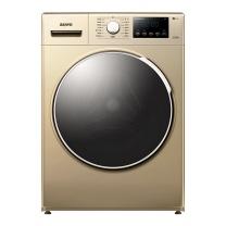 三洋 SANYO 三洋(SANYO)8公斤变频洗烘一体滚筒全自动洗衣机 等离子焊接内筒 WiFi智能(凯撒金)WF80BHI576S 8公斤变频洗烘