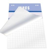 AUCS AUCS 白板纸A1(25页)带暗格 挂纸(夹纸)白板专用纸 广告会议写字板用夹纸 VCPAD25 白板挂纸(带暗格)