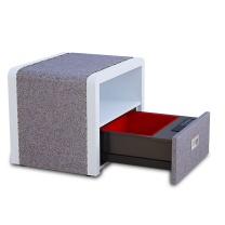 虎牌保管柜/箱家用办公密码欧式床头柜单抽屉BGX-5/D1-17FS