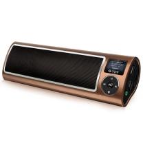 不见不散 不见不散(See me here)LV520-III三代大功率便携老年人收音机老年低音炮音响 充电半导体插卡音箱 咖啡色 咖啡色
