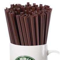 唐宗筷 600支一次性咖啡搅拌棒 咖啡吸管 热饮果汁吸管 搅拌管 三孔小吸管 17CM C6800