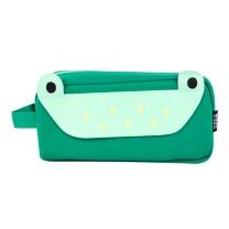 晨光 M&G 晨光(M&G)别咬我系列绿色小青蛙大方形笔袋 大容量文具收纳袋APBN3675 小青蛙