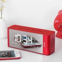 伊酷尔 伊酷尔 (ifkoo)D3 中国红 智能时间闹钟无线蓝牙音箱重低音炮手机电脑电视LED显示屏便携式迷你小音响 中国红