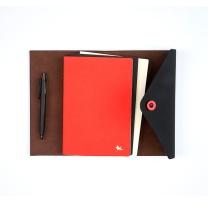 晨光 M&G 晨光(M&G)见字如面系列旅行手账绑带本笔记日记本子套装HAPY0236 见字如面