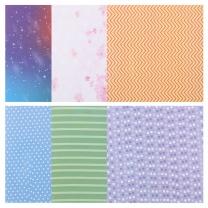 晨光 M&G 晨光(M&G)米菲系列36K双面趣味印花折纸儿童手工纸(内含6种图案) 30页/包FPY39M53 36K/6图案