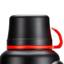 SIMELO SIMELO(施美乐)印象京都系列保温杯具户外保温壶大容量车载旅行壶3.6L(典雅黑) 3.6L典雅黑远足必备