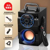 伊酷尔 伊酷尔(IFKOO) S37无线蓝牙音箱便携手提重低音炮收音机户外大音量广场舞迷你插卡手机家用小音响 黑色-大喇叭重低音炮